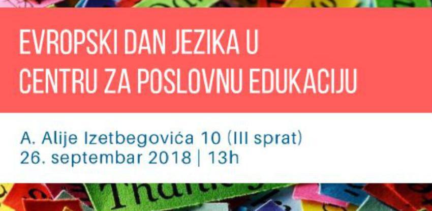 """Centarza poslovnu edukaciju organizuje obilježavanje """"Evropskog dana jezika"""""""