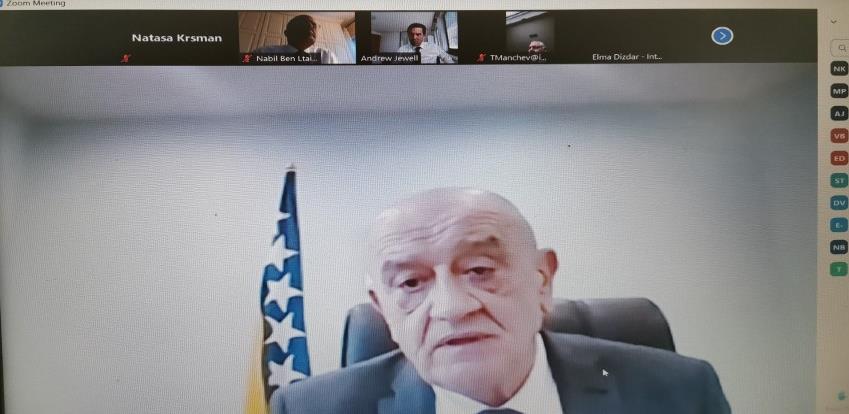 Bevanda razgovarao sa šefom misije MMF-a u BiH o novom aranžmanu