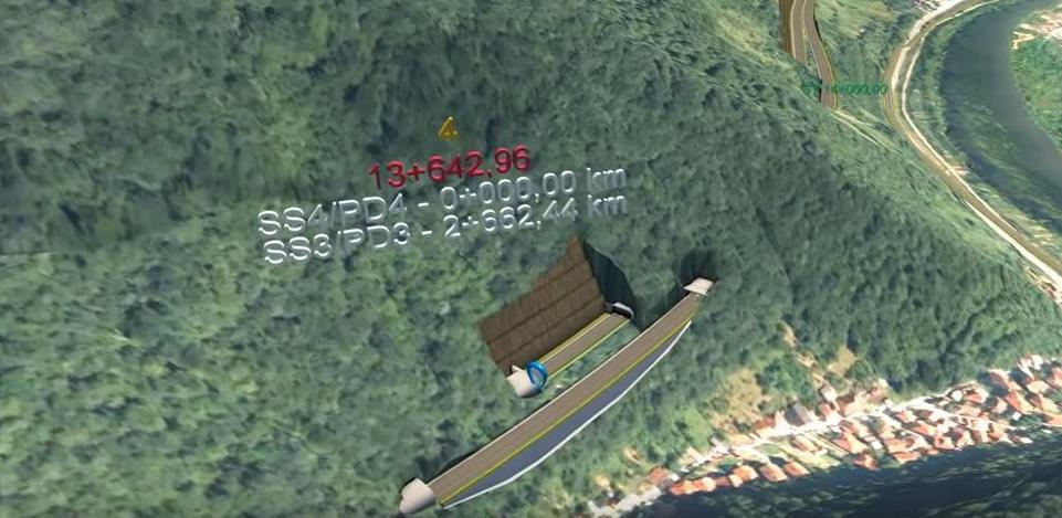 Pogledajte kako će izgledati tunel kod Zenice vrijedan 59,4 miliona eura (Video)