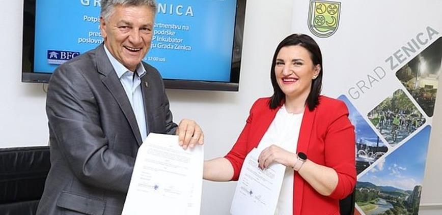 Potpisan Ugovor za realizaciju programa podrške preduzetništvu u Zenici