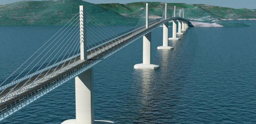 Uskoro početak izgradnje Pelješkog mosta