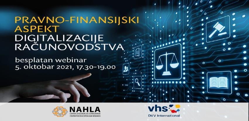 Besplatan webinar: Pravno-finansijski aspekt digitalizacije računovodstva