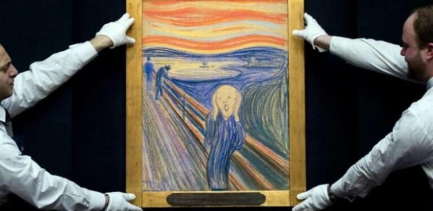 Autor skrivene poruke na Munchovu 'Kriku' je Munch