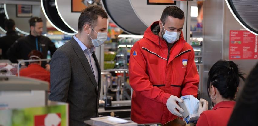 Općina Novi Grad osigurala zaštitnu opremu uposlenicima tržnih centara