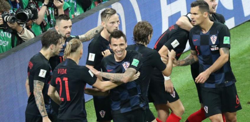 Nogometaši Hrvatske u finalu SP-a u Rusiji