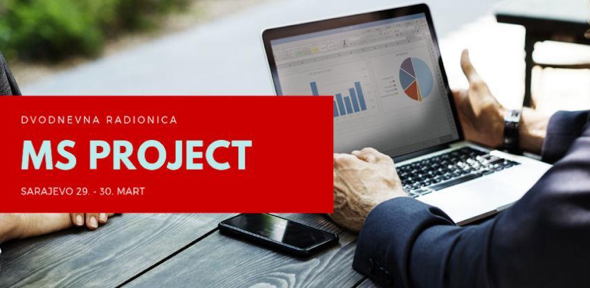Dvodnevna interaktivna radionica: MS Project