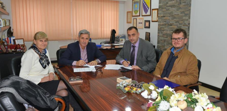 Potpisan Ugovor o kupoprodaji zemljišta za izgradnju zgrade Općinskog suda Žepče