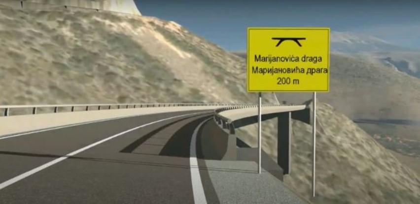 Mostarska obilaznica dobiva obrise, probija se prijevoj Kobilovača
