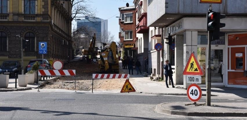 Započeli radovi na asfaltiranju dijela Kranjčevićeve ulice