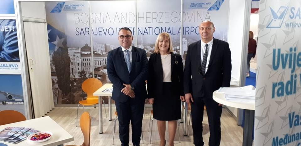 Međunarodni aerodrom Sarajevo učestvuje na 22. Međunarodnom sajmu u Mostaru