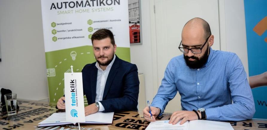 Teleklik je potpisao Ugovor o poslovno-tehničkoj saradnji sa Automatikonom