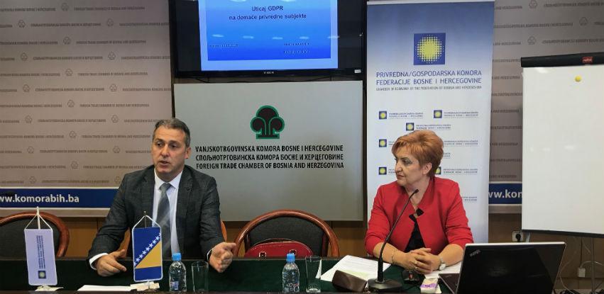 U PKFBiH održano predavanje 'Uticaj GDPR na domaće privredne subjekte'