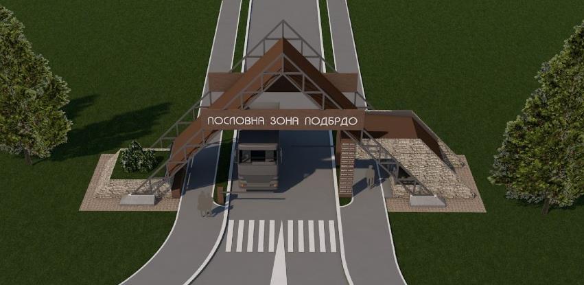 Pogledajte kako će izgledati ulazni portal u poslovnu zonu ''Podbrdo''
