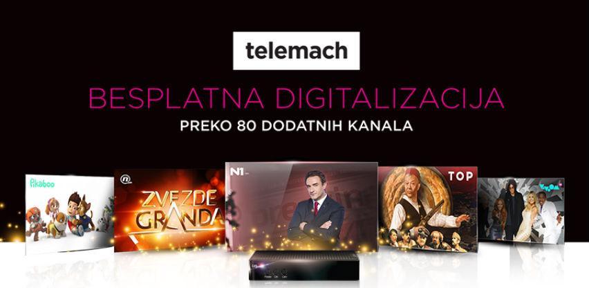 Besplatna digitalizacija za analogne korisnike u Telemachu