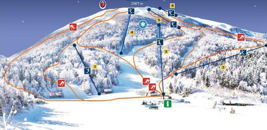 Na Igmanu spremne staze za alpsko, nordijsko skijanje i cross country