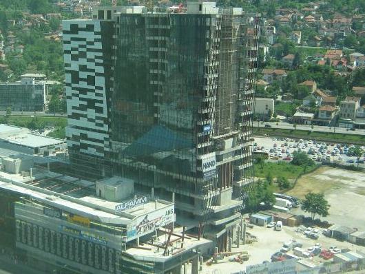 U završnici radovi na objektu Sarajevo City Center