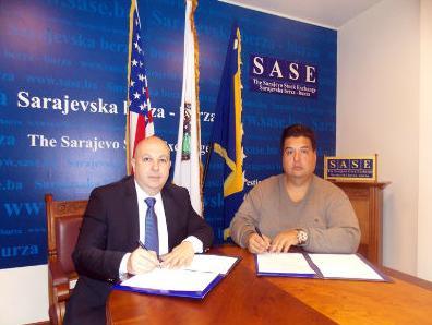 Potpisan ugovor o saradnji između SASE i Američkog univerziteta u Sarajevu