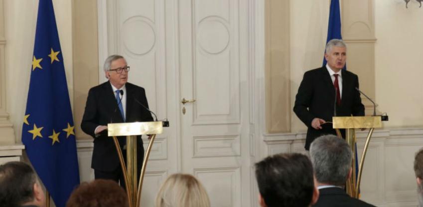 Juncker pohvalio rad BiH u odgovaranju na pitanja iz Upitnika EK