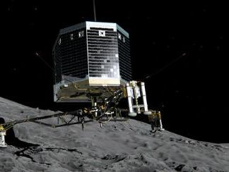 Evropski robot Philae na kometi
