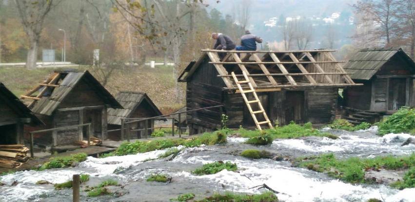 Agencija Jajce vlastitim sredstvima zamijenila krov na dvije vodenice