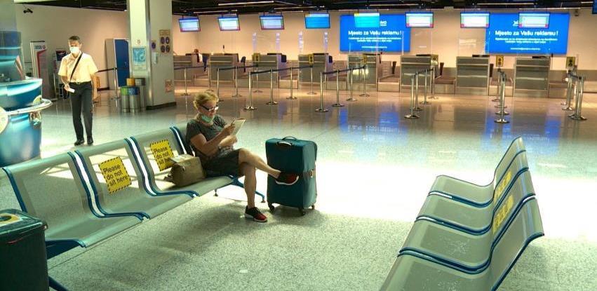 Broj putnika na bh. aerodromima pao za 72 posto u 2020. godini