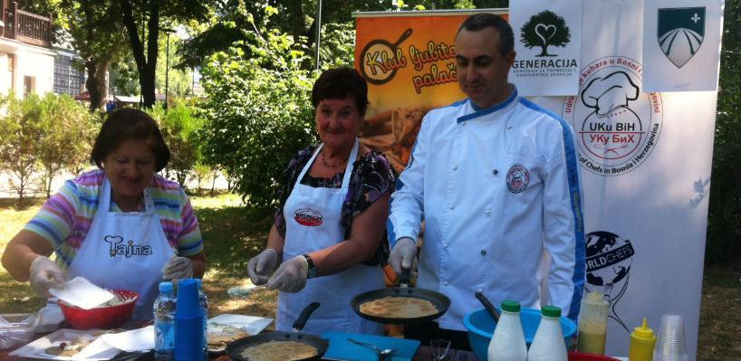 Udruženje kuhara BiH i Klub ljubitelja palačinaka: Zabava za sve generacije