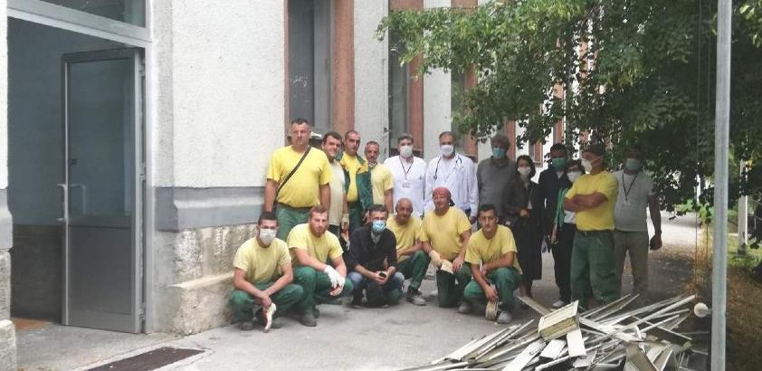 Počeli radovi na formiranju Izolatorija u krugu Opće bolnice