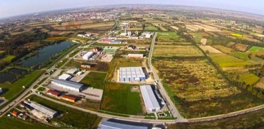 Izgradnja infrastrukture u Poduzetničkoj zoni Dusine