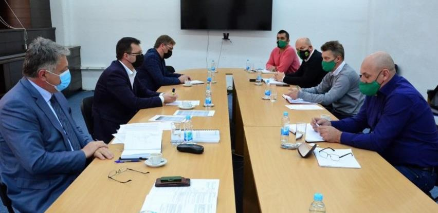 Džindić i predstavnici Sindikata radnika rudnika FBiH o procesu restrukturiranja