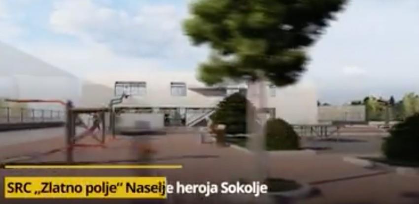 """Odabran izvođač: Počinje gradnja SRC """"Zlatno polje"""" u naselju Sokolje"""