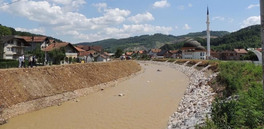 Prevencije od poplava: U Dubokom Potoku u toku radovi na uređenju korita Tinje