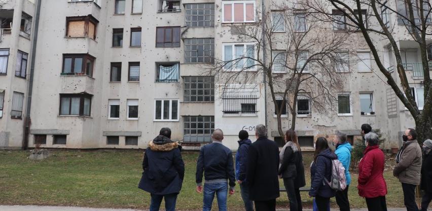 Kanton najavio pomoć u rekonstrukciji zgrade u ulici Petra Tiješića na Dobrinji