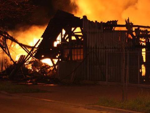 Milionske štete u požarima u drvnoj industriji