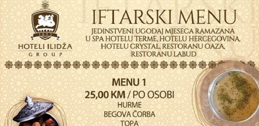 Dočekajte radost iftara u Restoranu Oaza
