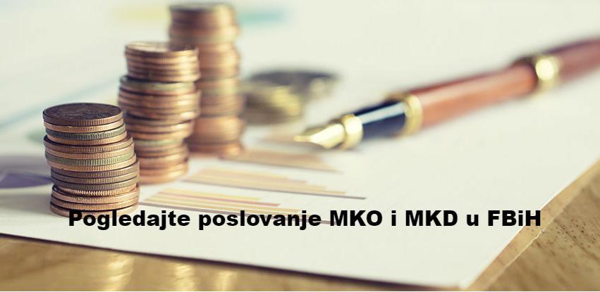 MKO ostvarile prihode od 86 mil. KM, od toga najviše od kamata