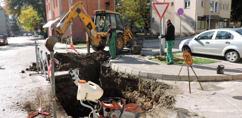 Otpočela rekonstrukcijavodovodne mreže u Jablanici