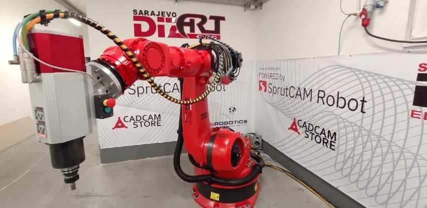 Iz kućne garaže na svjetsko tržište: Sarajevski Dizart proizvodi robote