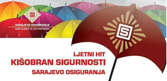 Zaštitite se i vi zlatno-crvenim kišobranom sigurnosti!