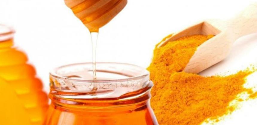 Mješavina meda i kurkume čini čuda