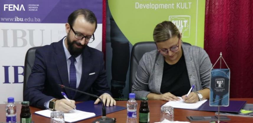 IBU i KULT potpisali sporazum u cilju usavršavanja znanja studenata u BiH