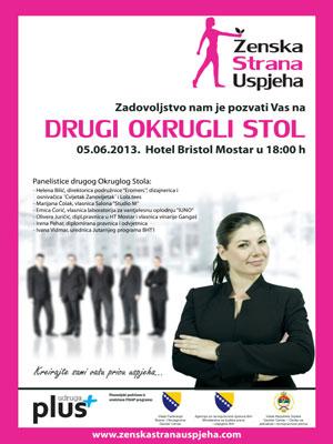 U Mostaru okrugli stol u okviru projekta Ženska strana uspjeha