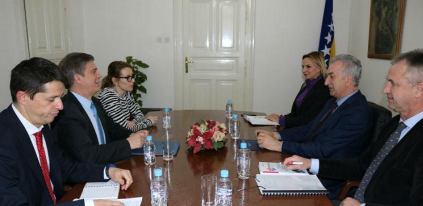 Šarović razgovarao s Wigemarkom o strategiji za ruralni razvoj BiH