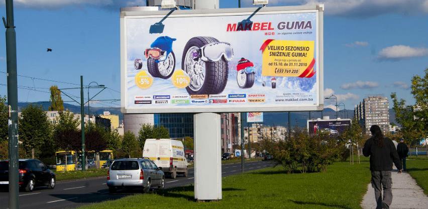 Novim cijenama reklamnih panoa uvećali prihod za preko 140.000 KM
