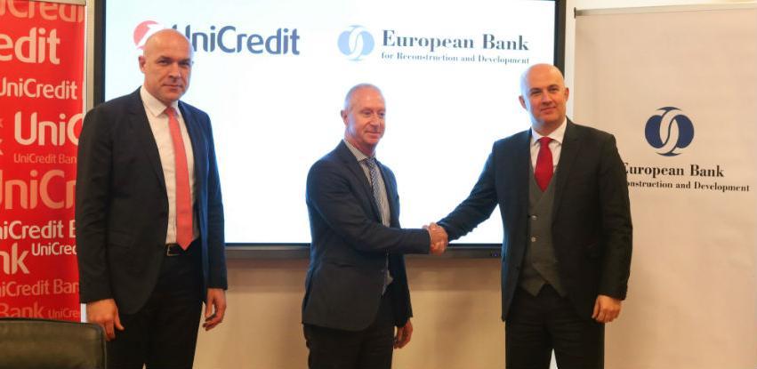 UniCredit u BiH i EBRD kreditiraju mala i srednja poduzeća sa 10 miliona eura