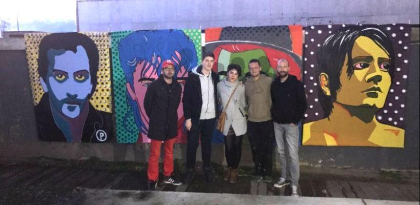 Prvi Pop Art Festival završen otkrivanjem murala sarajevske kulturne scene