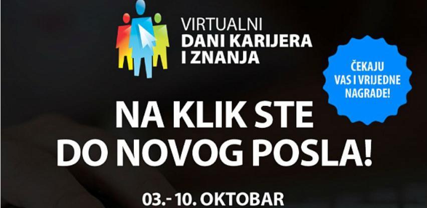Počeo najveći regionalni sajam zapošljavanja: Virtualni dani karijera i znanja!