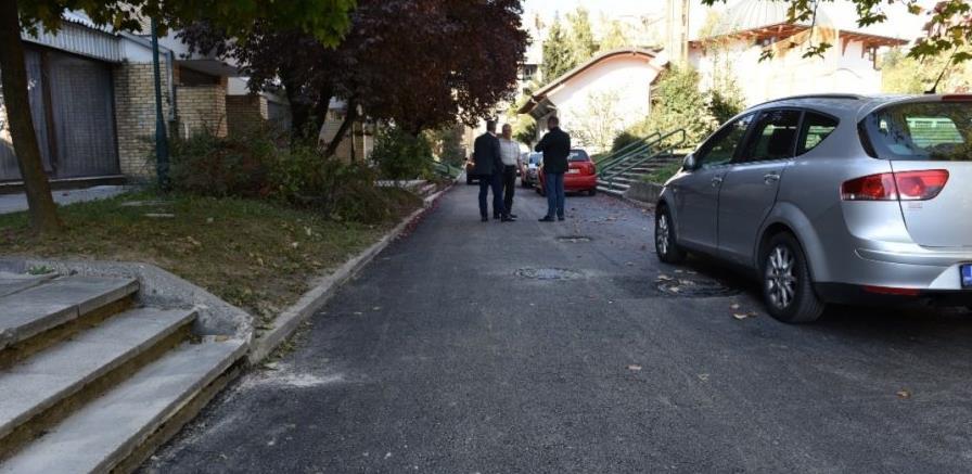 Završeni radovi na sanaciji dijela Ulice Ismeta Mujezinovića