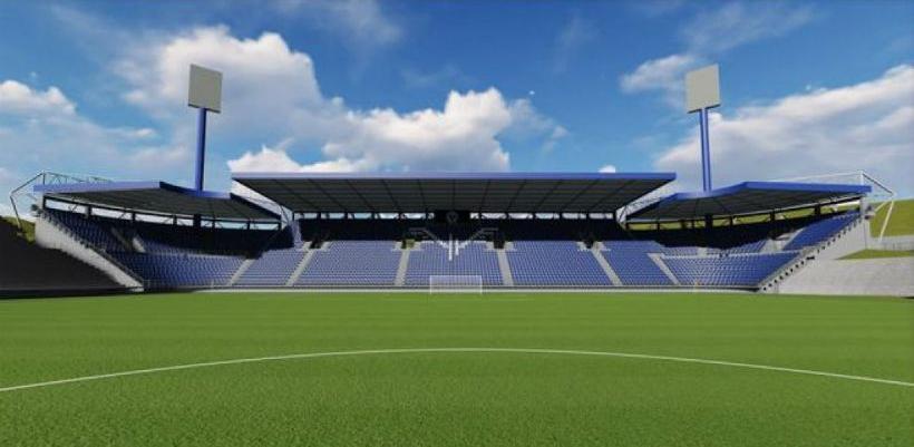 Izgradnja južne tribine stadiona Grbavica koštat će5.500.000 KM