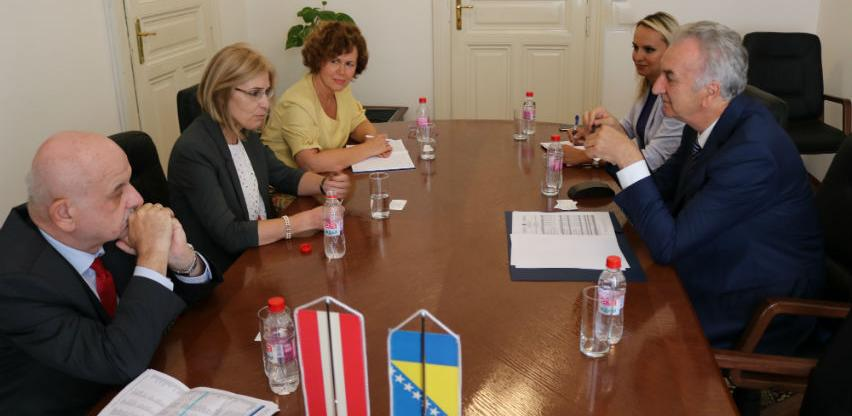Saradnja BiH i Austrije: Pokrivenost uvoza izvozom dostigla 155 posto