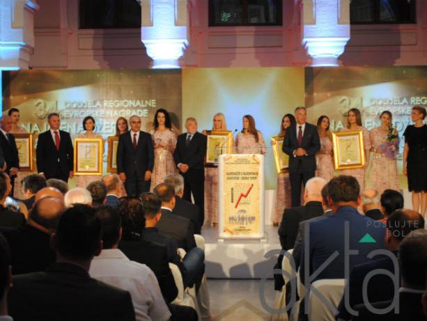 22 biznis nagrade menadžerima Evrope: Širbegović među najboljim